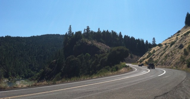 Photo taken in California, en route to Redwood National Park.